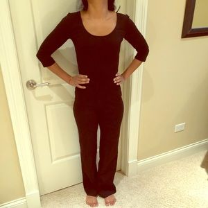 Ponte jumpsuit black xs
